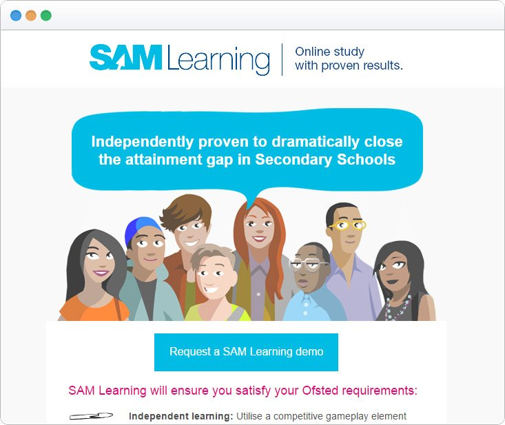SAM Learning