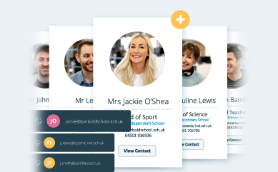 We help you connect with schools & turn teachers into customers